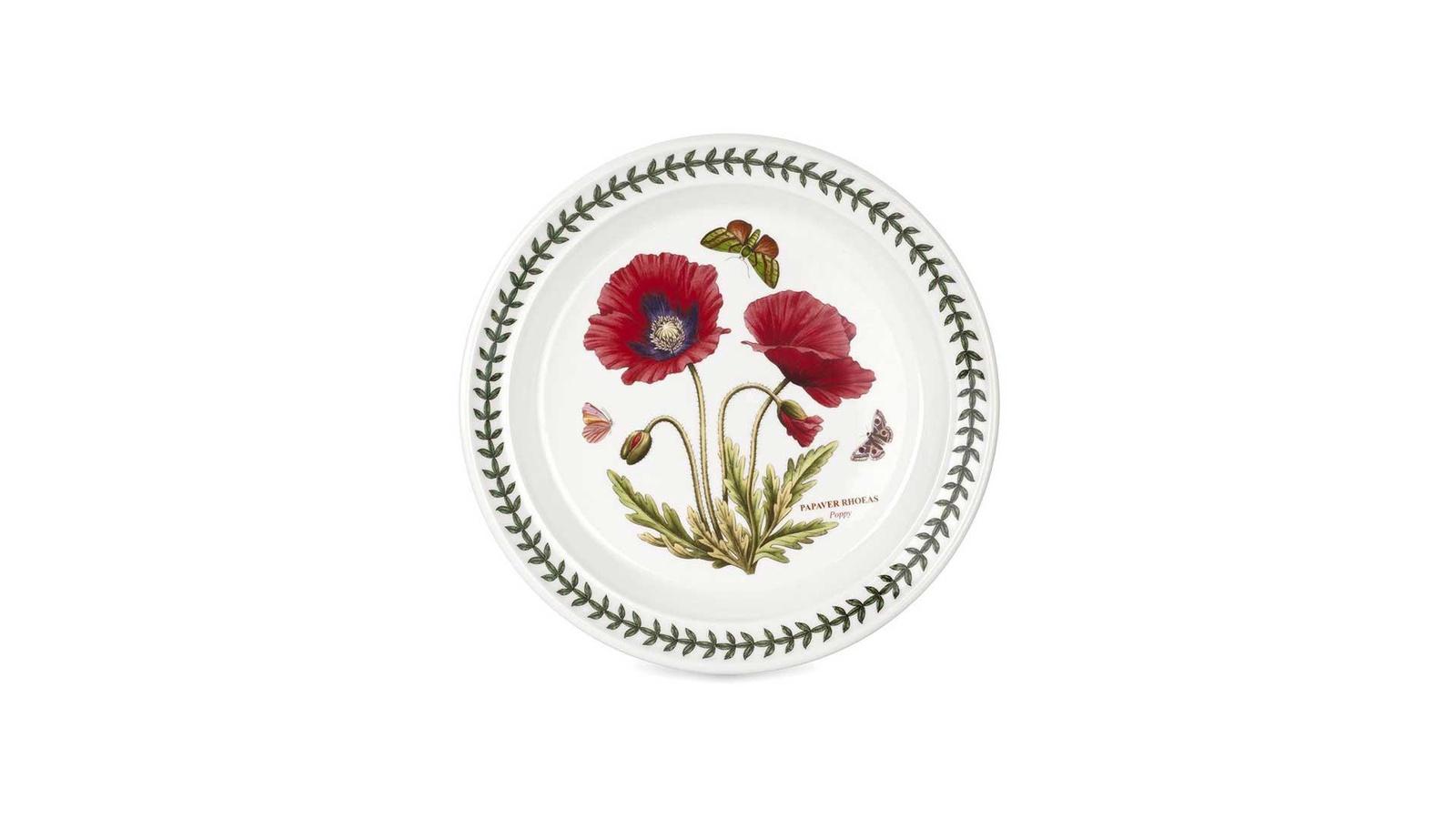 Тарелка Portmeirion PRT-BGPO05072-39, Фаянс закладки ботанический клуб