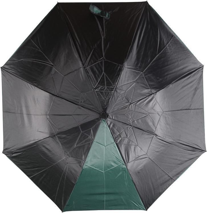 Зонт Oasis «Логан», черный, зеленый зонт oasis майорка зеленый серебристый