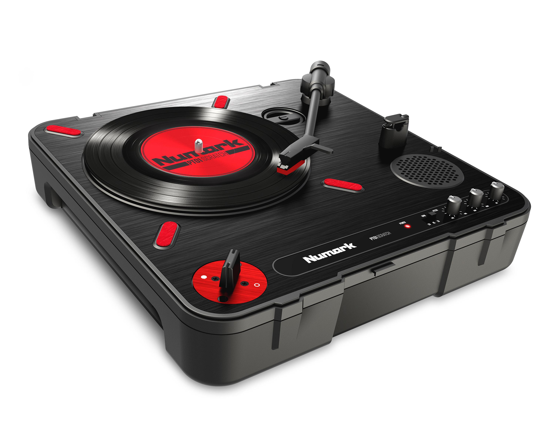 Проигрыватель виниловых дисков NUMARK PT01 SCRATCH, черный цена