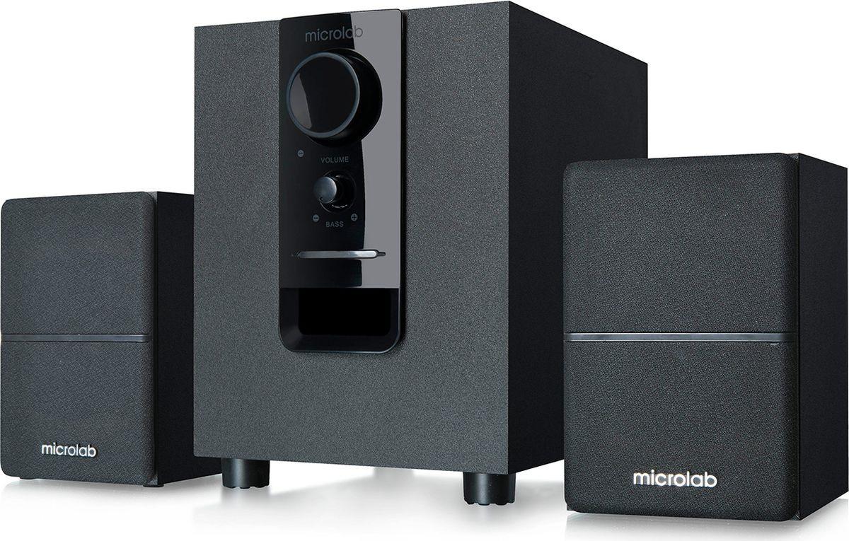 Компьютерная акустическая система Microlab M-106, черный