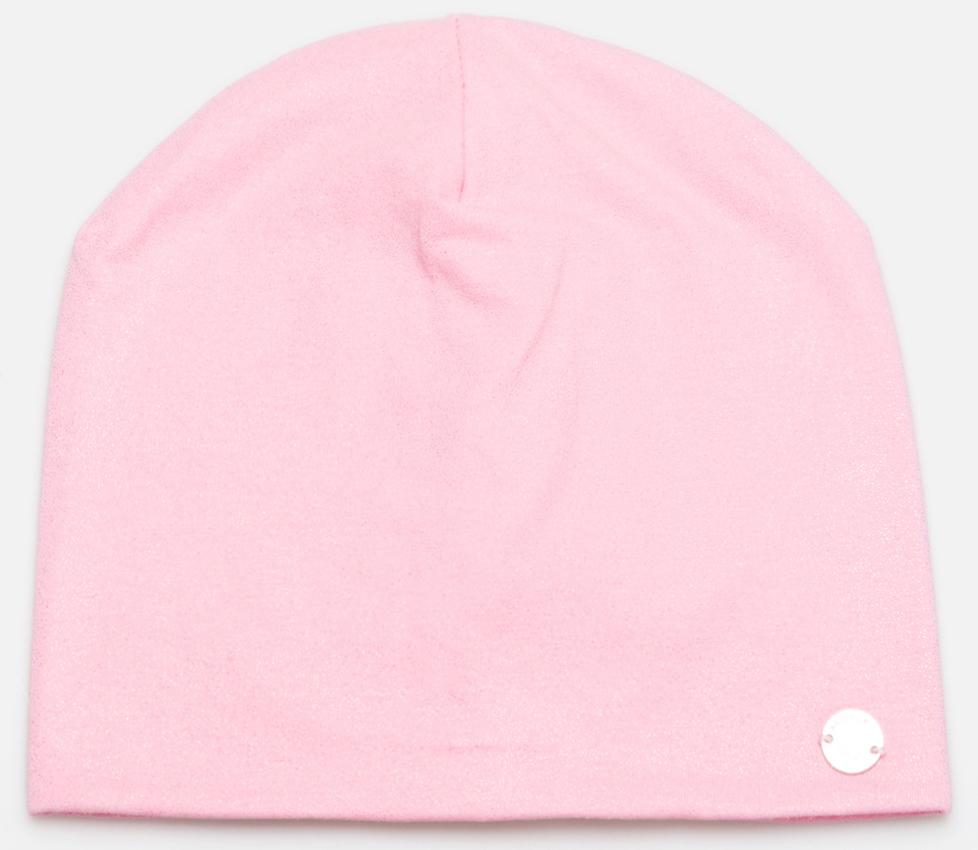 Шапка для девочки Acoola Bleski, цвет: светло-розовый. 20236400076_3400. Размер S (50/52)20236400076_3400