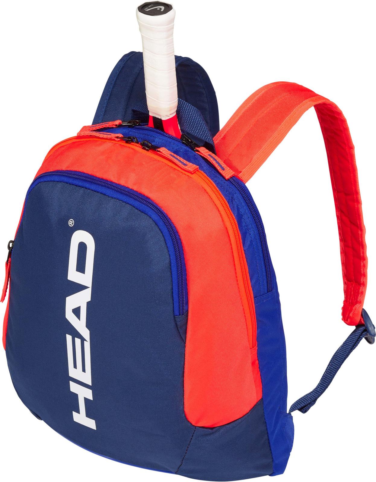 Рюкзак детский Head Kids Backpack, синий, оранжевый цена