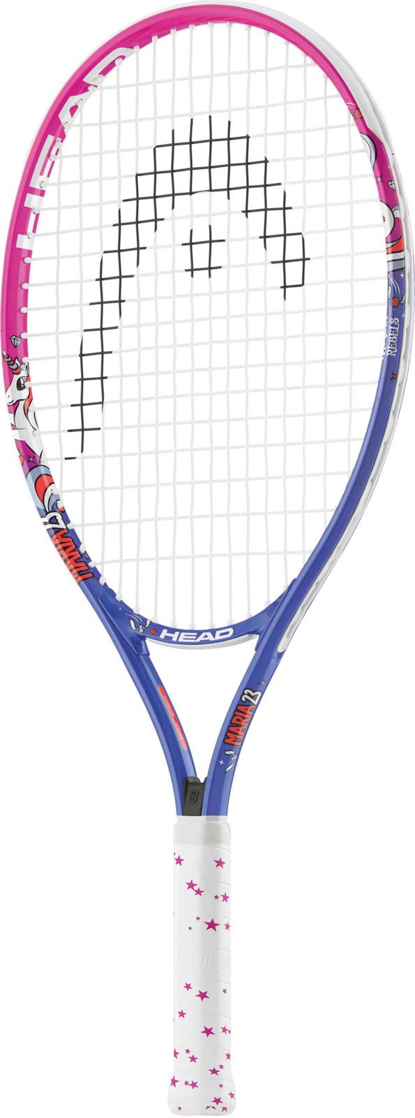Ракетка для тенниса детская Head Maria 23, розовый, ручка 6233418Детская ракетка для начала обучения.