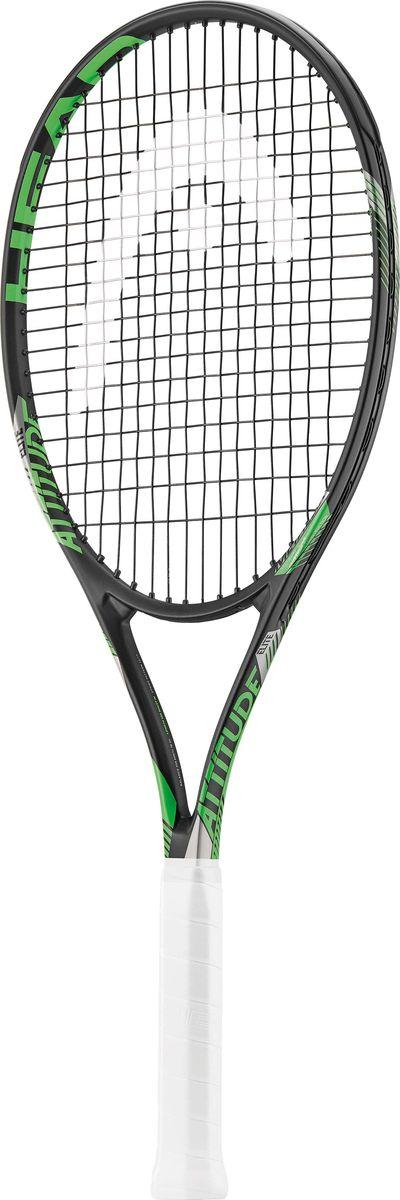 Ракетка теннисная Head MX Attitude Elite, зеленый, ручка 2 лян цзянь бадминтон ракетка давление точка киль ручной работы теннисная ракетка пот полосатая рыба полюс ручка кожа синий 1