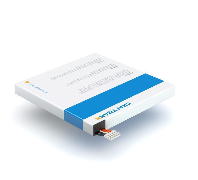 Аккумулятор для телефона Craftmann HB5Q1HV для Huawei U9200E Ascend P1 XL, U9510E Ascend D1 Quad XL аккумулятор для телефона ibatt hb5q1hv для huawei ascend p1 ascend d1 quad xl u9510e ascend d1 quad xl u9200e ascend p1 xl