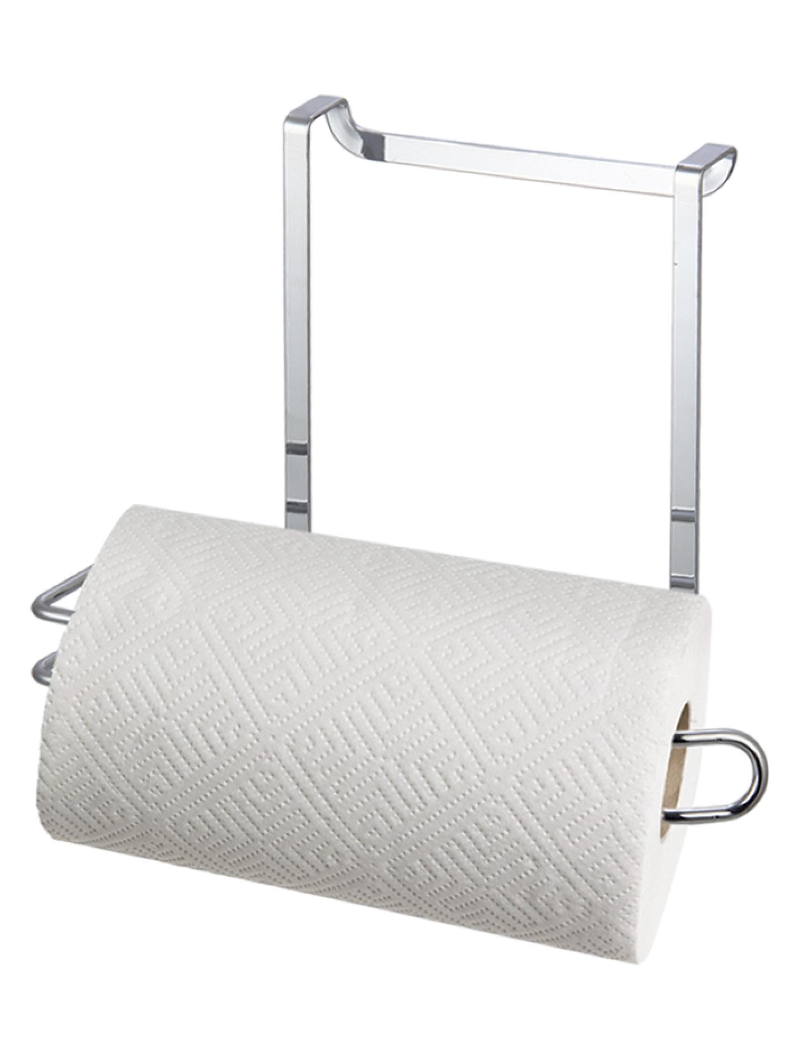 Держатель кухонный Unistor Держатель для бумажных полотенец надверный, серебристый держатель для бумажных полотенец winner wr 7503