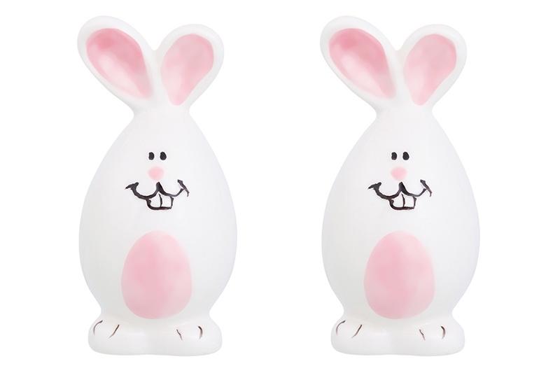 купить Набор для специй Elan Gallery Зайки, белый, розовый по цене 308 рублей