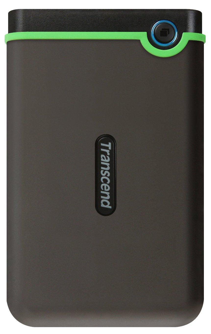 """Портативный внешний жесткий диск Transcend HDD 1 TB 25M3S StoreJet , 2.5"""", USB 3.0, серый"""