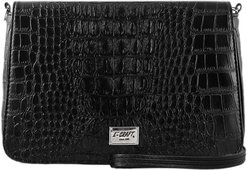 Сумка l-craft 1228, черный цена