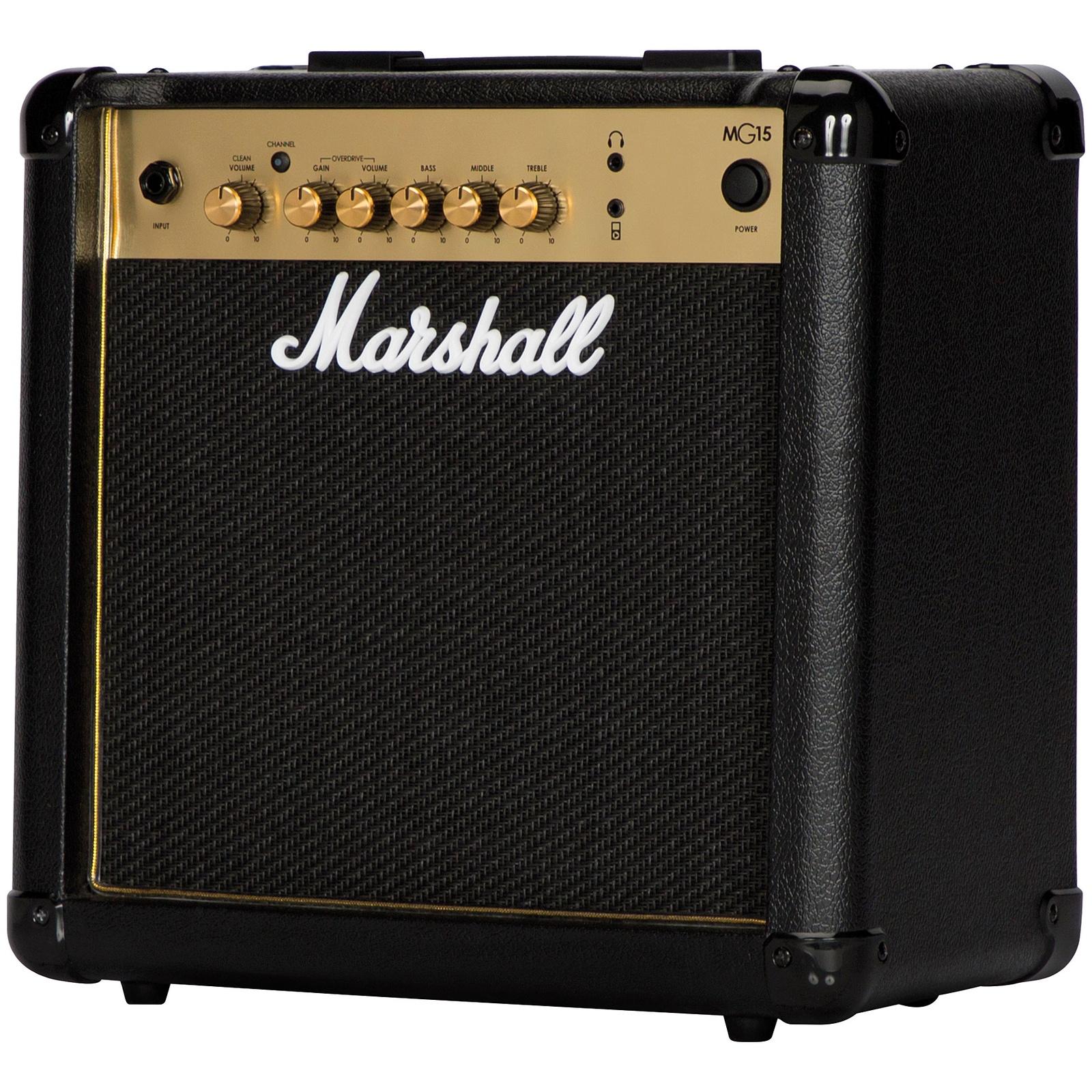 Гитарный комбоусилитель MARSHALL MG15G, черный