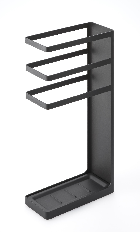 Подставка для зонтов Yamazaki LAYER SLYM UMBRELLA STAND, черный