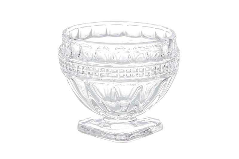 Фото - Солонка Фантазия 6*6*5 см. 80 мл., круглая, стекло [супермаркет] jingdong геб scybe фил приблизительно круглая чашка установлена в вертикальном положении стеклянной чашки 290мла 6 z