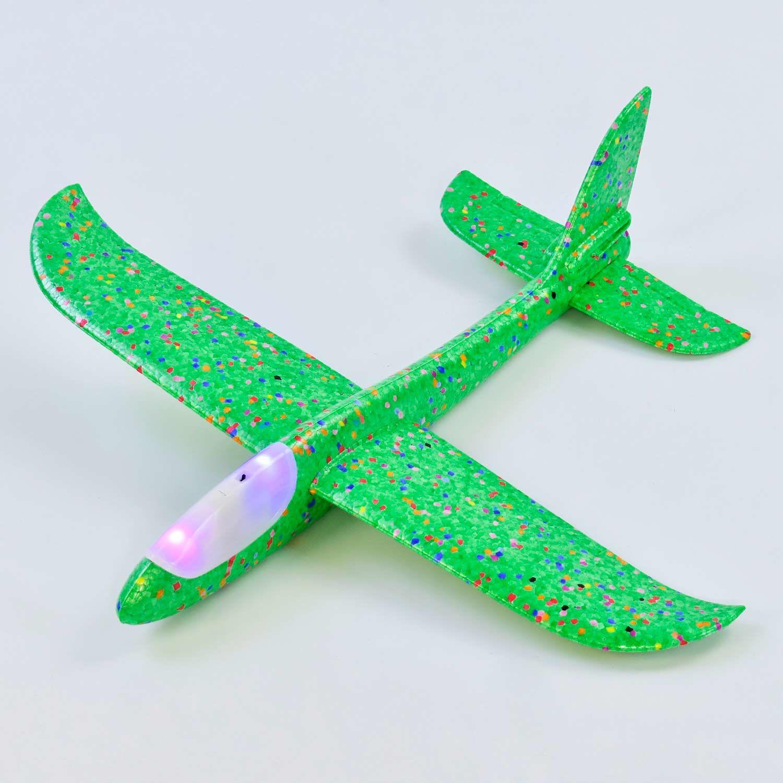 Самолет Самолетик салатовый