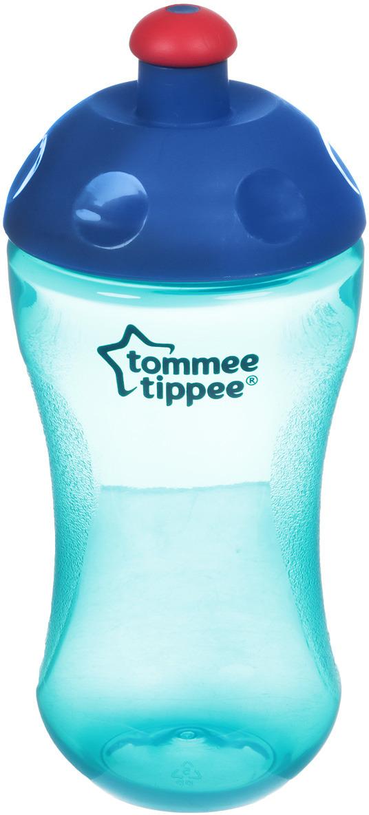 Поильник-непроливайка Tommee Tippee Sport, от 12 месяцев, 44402687-2, бирюзовый, 300 мл новогоднее подвесное украшение sima land зимний узор диаметр 10 см