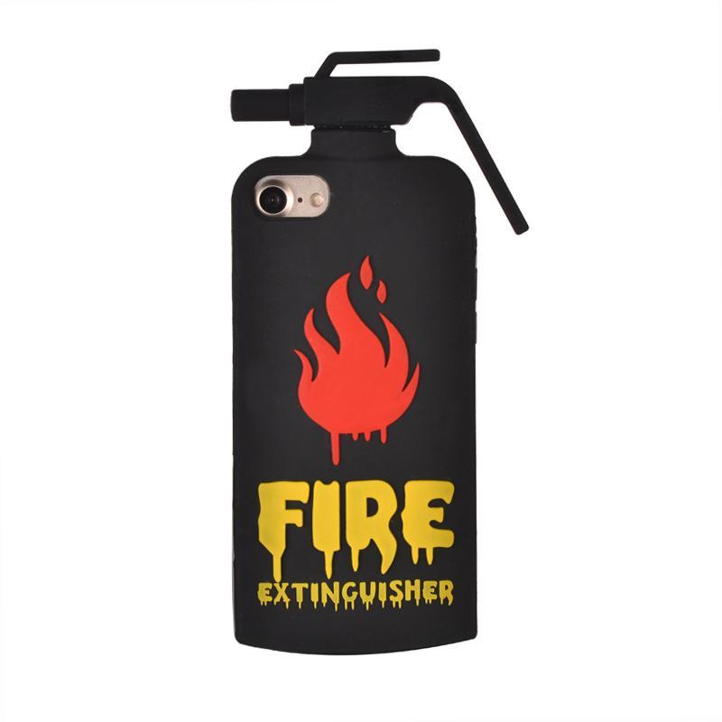 Чехол для сотового телефона ZUP FIRE EXTINGUISHER для iPhone 7/8, черный чехол для сотового телефона zup lord nermal для iphone xs max черный