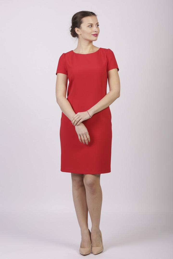 Платье AKIMBO, красный 48 размерПлатье П-747 МЛ872(В8)(48)Платье женское