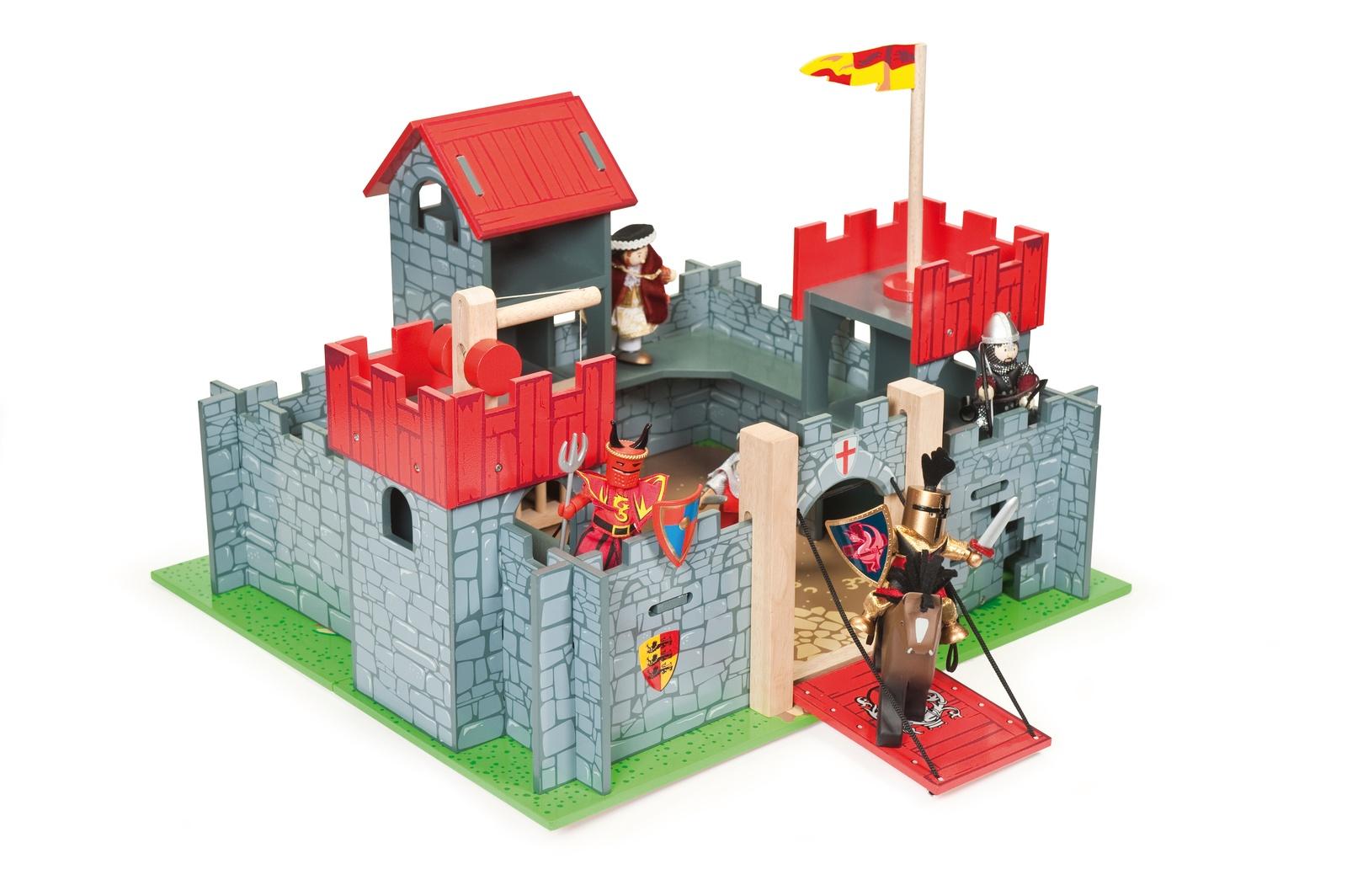 Рыцарский замок игрушка для фигурок Камелот, Le Toy Van цена