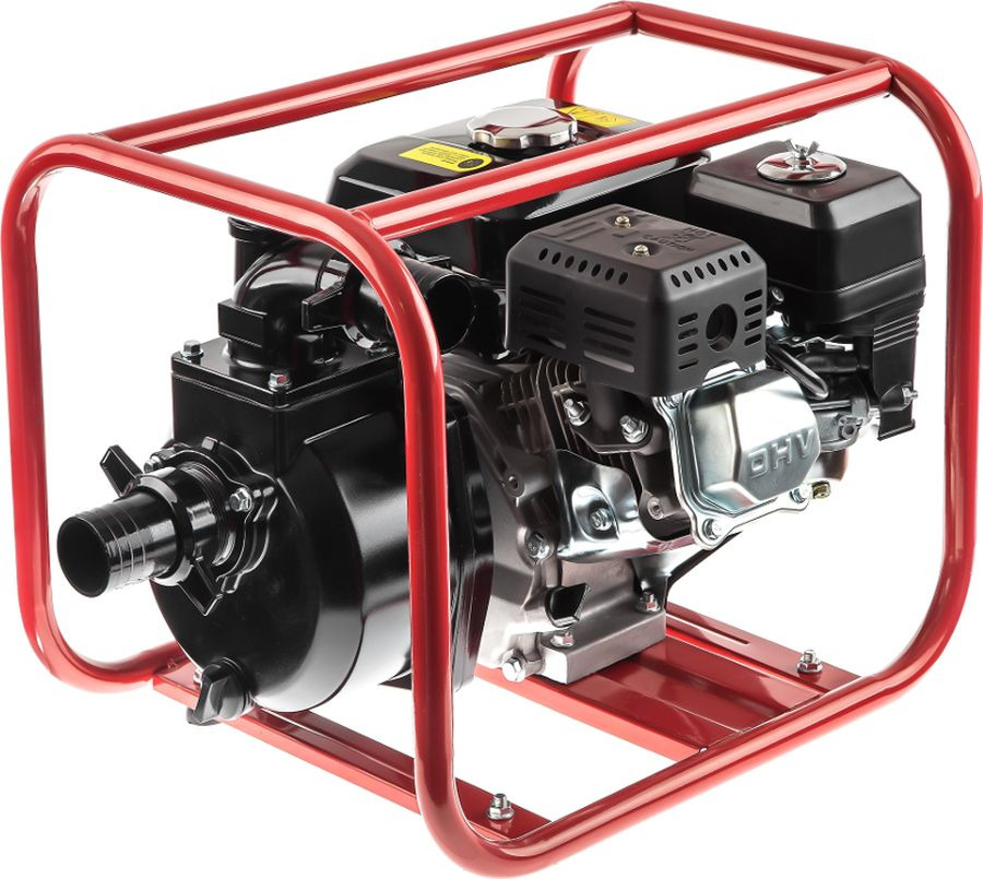 Мотопомпа Hammer Flex MTP285, черный, красный мотопомпа hammer flex mtp285 2 4 х такт 3 6 л с 500 л мин