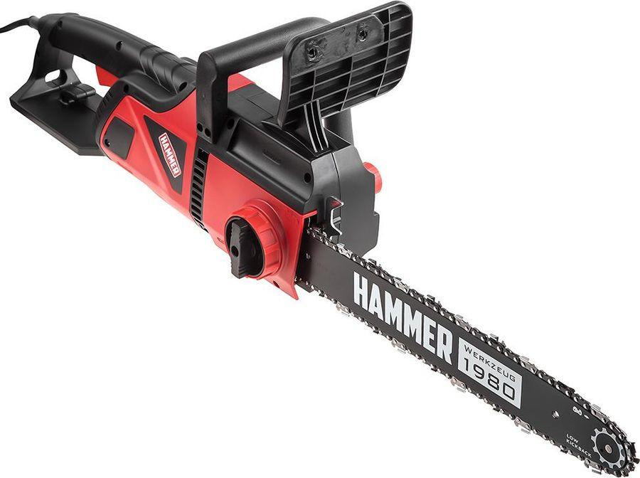 Цепная электропила Hammer CPP2216E, красный, черный шина bosch для пилы amw10 цепь
