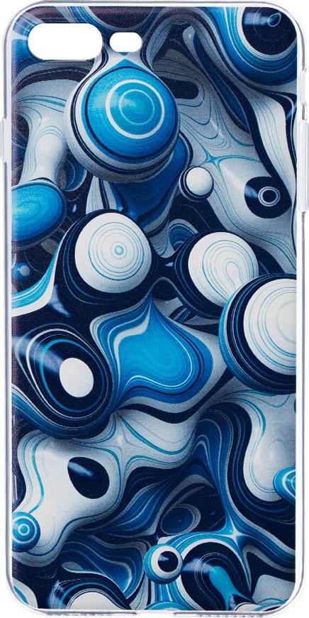 Чехол AnyCase Art Case для Apple iPhone 7/8 Plus, Painting 2, прозрачный