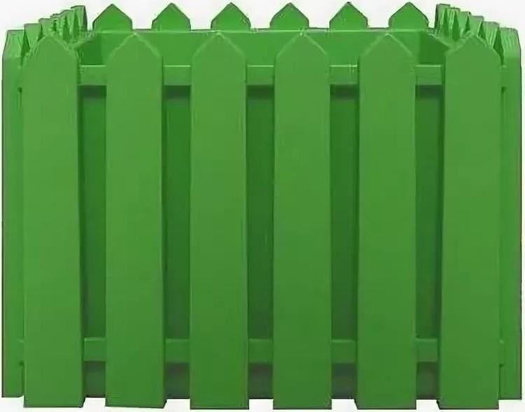 Кашпо Элластик-Пласт Лардо, ЭП 205821, зеленый, 28 х 28 х 22 см цена