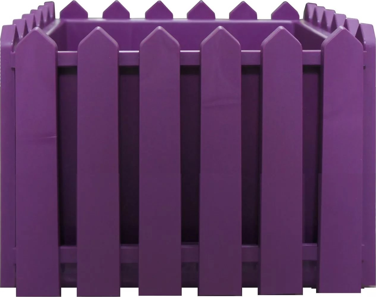 Кашпо Элластик-Пласт Лардо, ЭП 205814, лиловый, 28 х 28 х 22 см цена