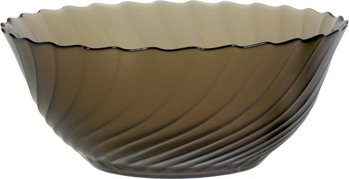 Салатник Luminarc Океан Эклипс, L5081, коричневый, диаметр 24 см салатник luminarc authentic black диаметр 24 см