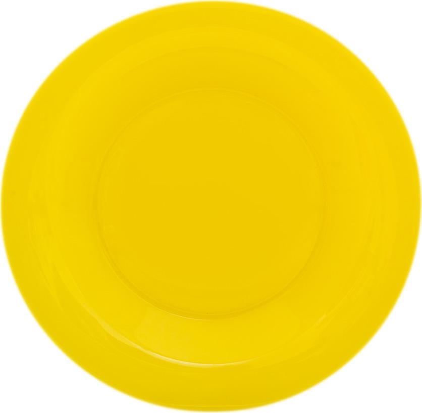 Тарелка десертная Luminarc Amбиантэ, L6261, желтый, диаметр 19 см тарелка десертная luminarc bulla 22 см