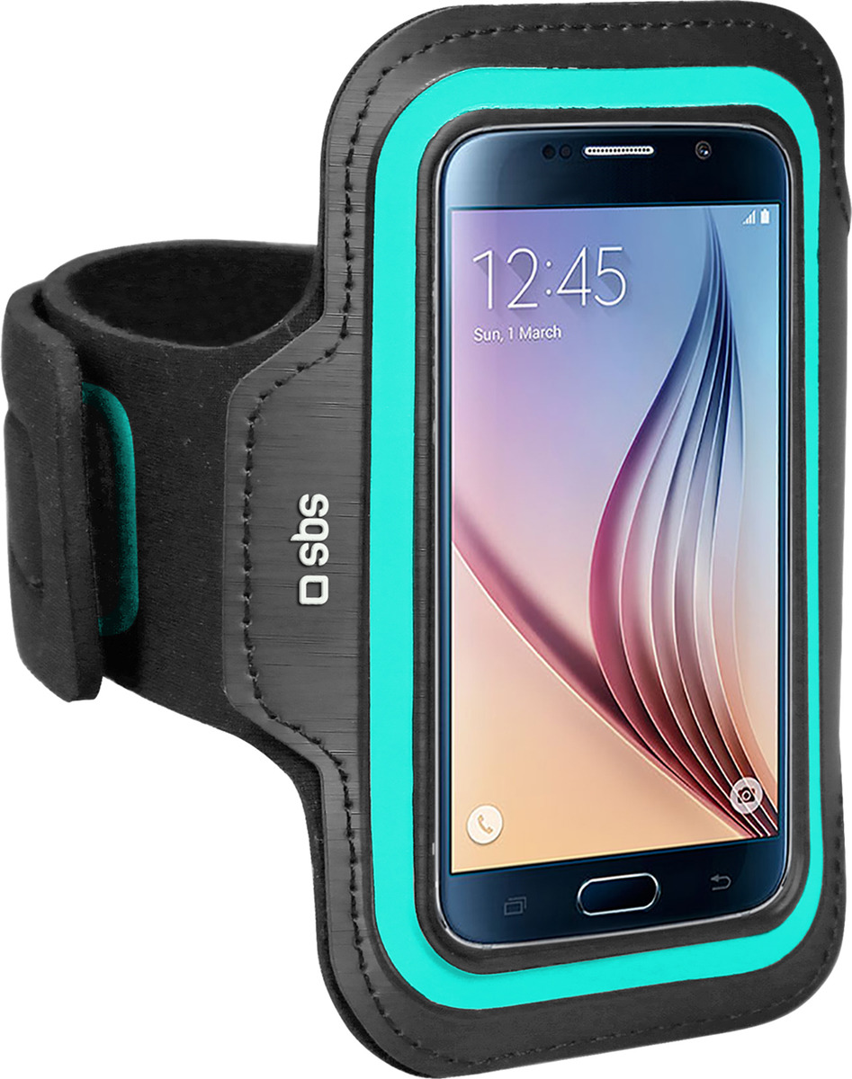 Чехол универсальный SBS для смартфонов до 5'', c креплением на руку, черный цена