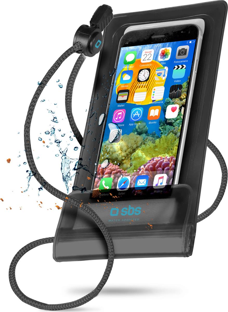 Чехол универсальный SBS для смартфонов до 5.5'', водонепроницаемый, черный удаленный доступ к веб камере