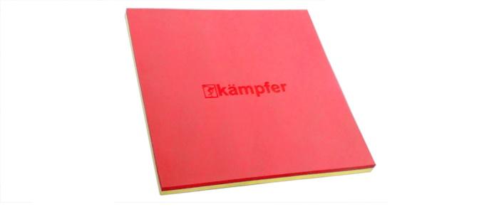 цена на Мат Kampfer татами red, красный, желтый
