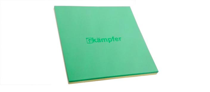 цена на Мат Kampfer татами green, зеленый, желтый