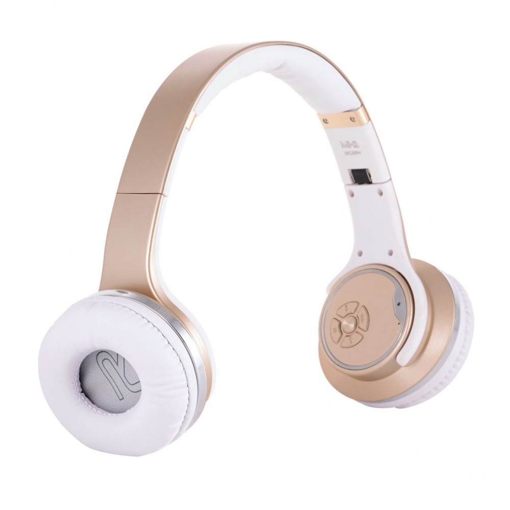 Беспроводные наушники Sodo MH1, золотой jbl clip2 music box 2 bluetooth портативный динамик стерео мини стерео колонки