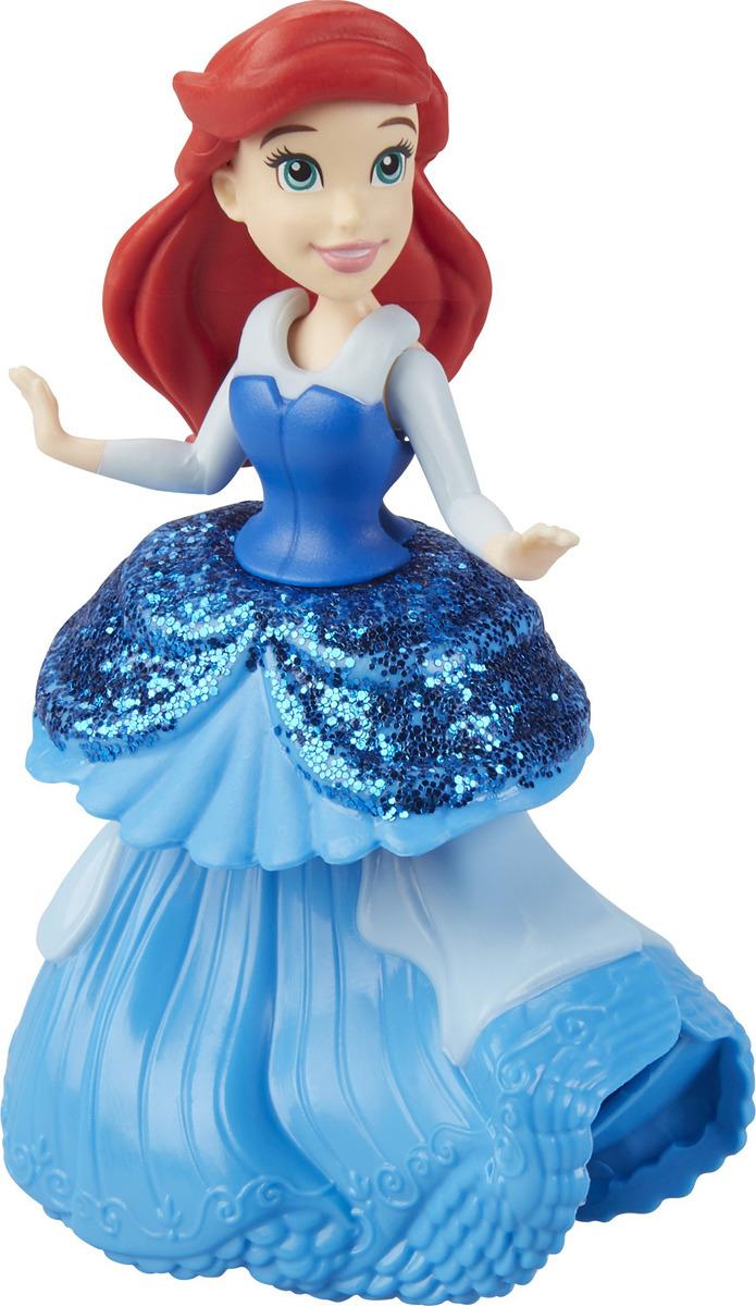 Фигурка Disney Princess Ariel, E3049EU4 E3088E3049EU4_E3088С обновленной системой Королевские клипсы играть с куклами Принцессы Дисней станет еще интереснее. Этот съемный наряд разработан специально для рук вашего малыша. С ним менять одежду любимых героинь будет одно удовольствие.
