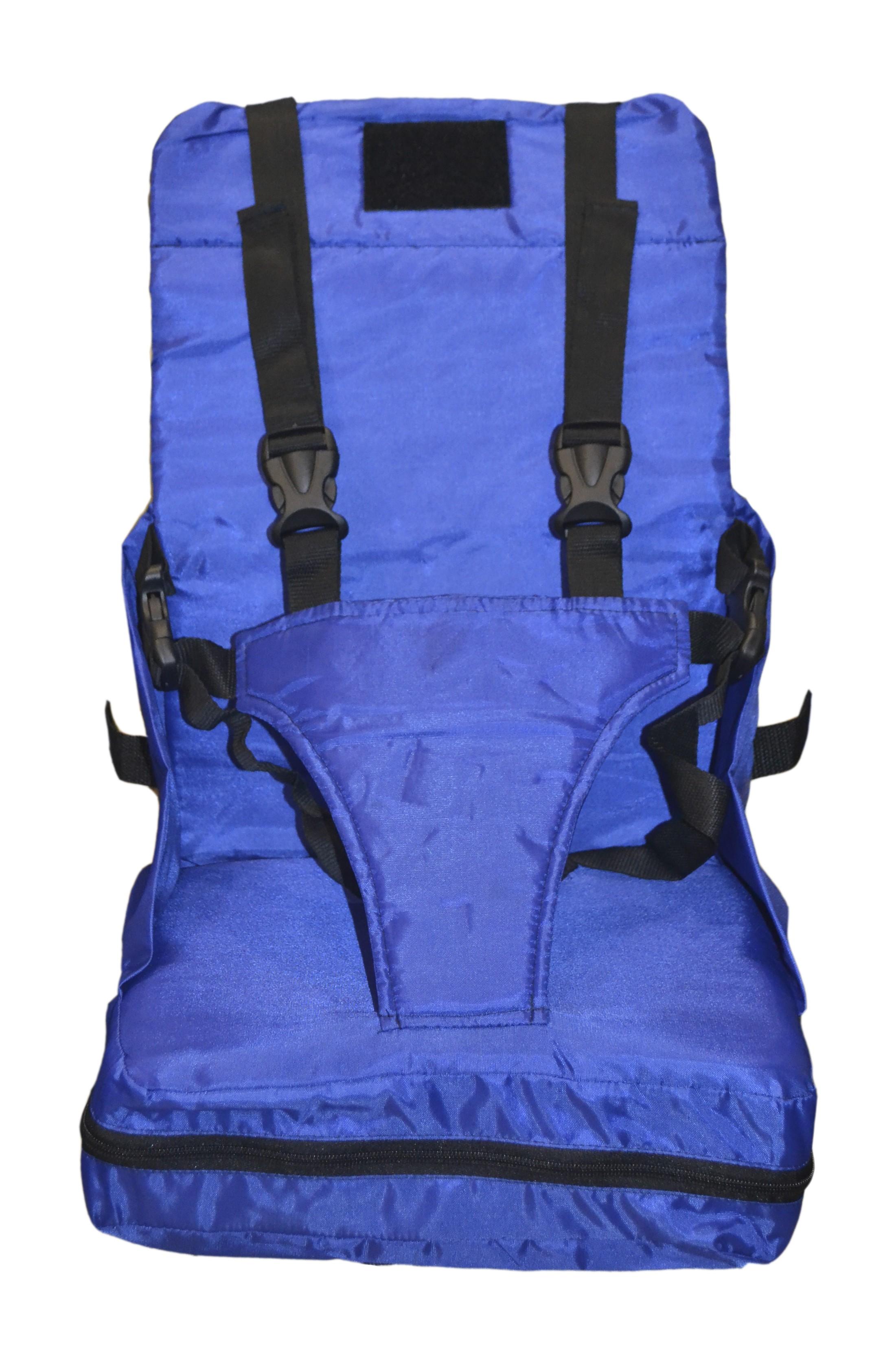 Стульчик для кормления Мирти Стульчик-бустер для кормления TravelSeat синий