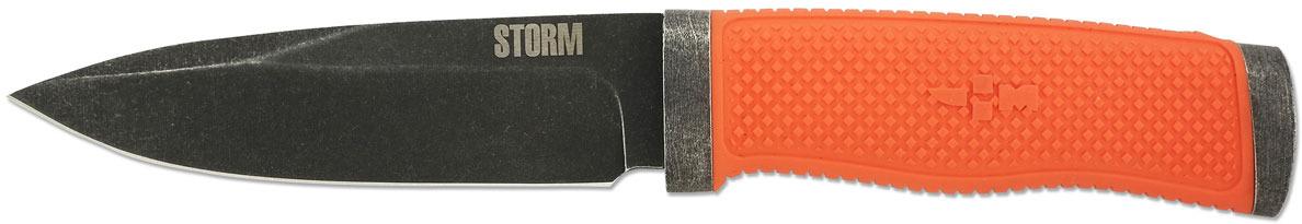 Нож туристический Ножемир Storm, H-183NBS, темно-серый, длина лезвия 12,2 см