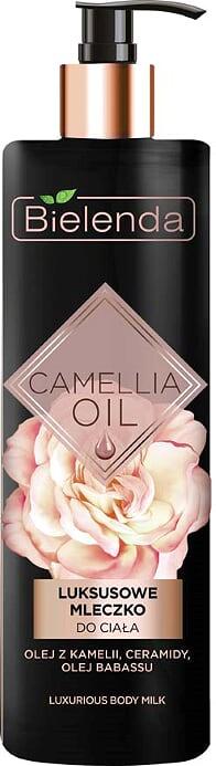 Эксклюзивное молочко для тела, CAMELLIA OIL, 400мл