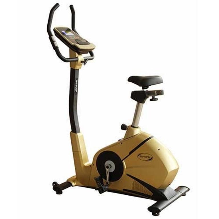 Велоэргометр Sport Elit  велотренажер SE-800P, золотой