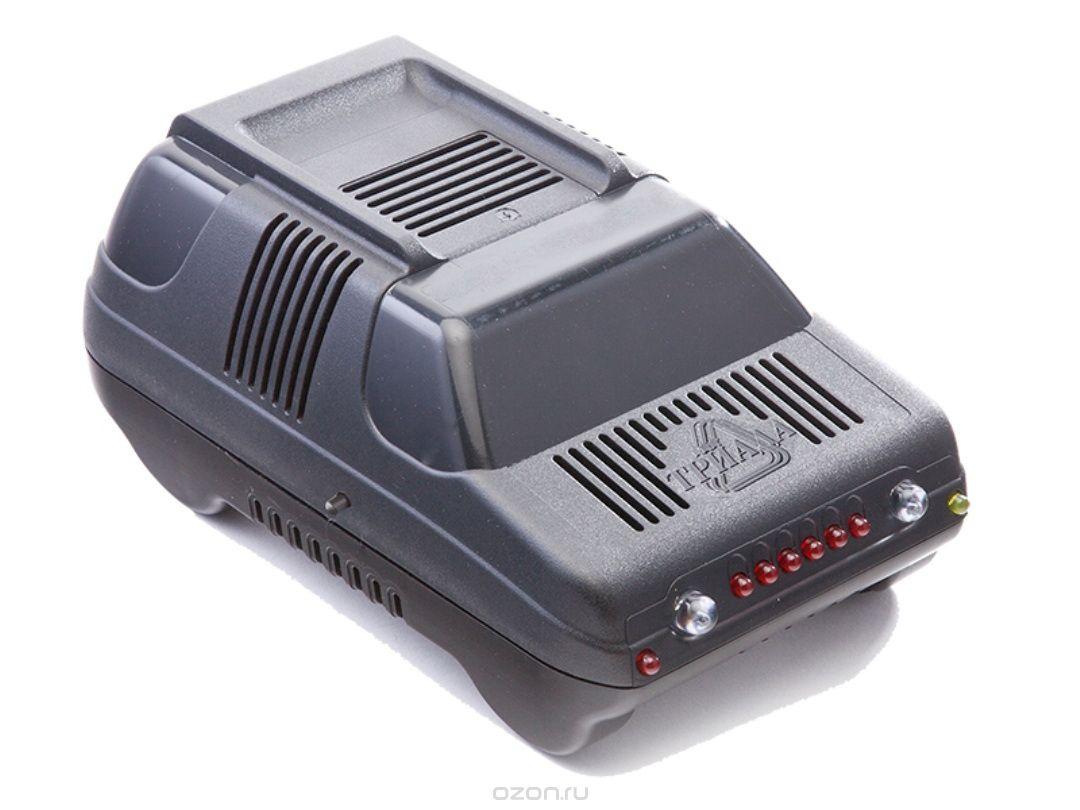 Зарядное устройство для аккумуляторов триада Зарядное устройство Триада-50 ЗУ 6/12 А, профессиональное импульсное, 2 режима, черный зарядное устройство триада boush 40 6 12 а профессиональное импульсное 2 режима