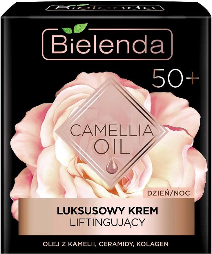 Эксклюзивный крем-концентрат подтягивающий 50+ день/ночь, CAMELLIA OIL, 50мл Bielenda