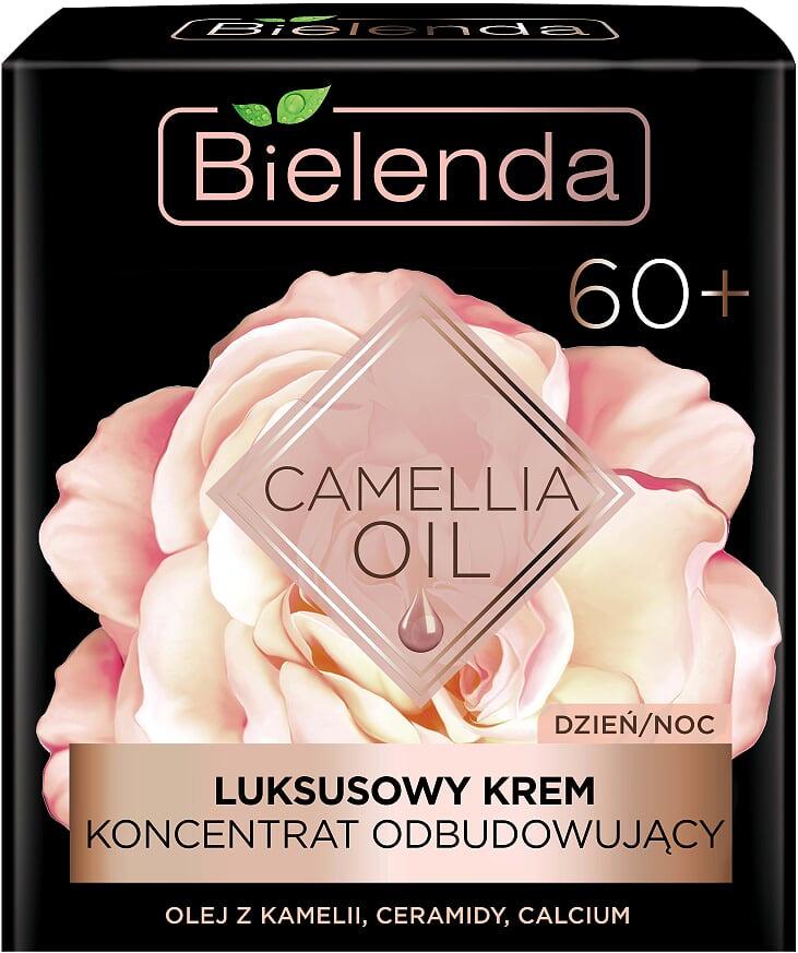 Эксклюзивный крем-концентрат востанавливающий 60+ день/ночь, CAMELLIA OIL, 50мл Bielenda