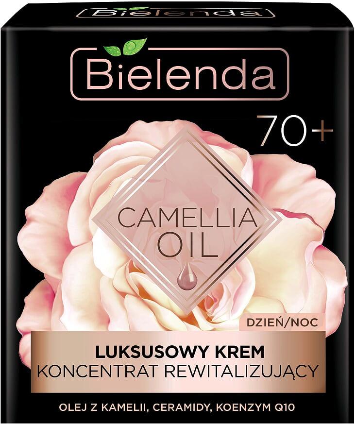 Эксклюзивный крем-концентрат оживляющий 70+ день/ночь, CAMELLIA OIL, 50мл Bielenda