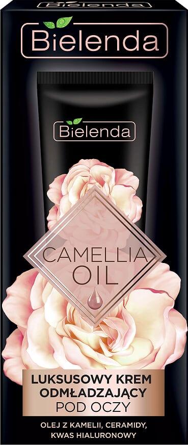 Эксклюзивный омолаживающий крем вокруг глаз,  CAMELLIA OIL, 15мл Bielenda