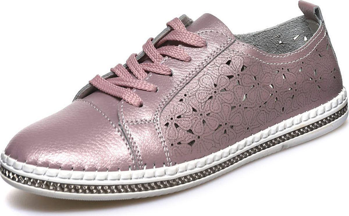 Кеды женские Spur, цвет: розовый. TW002_02_10_KU. Размер 41TW002_02_10_KU