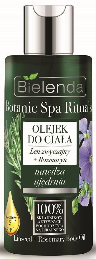 Фото - Масло для тела Лен+Розмарин, BOTANIC SPA RITUALS, 75мл каменное масло бальзам для тела 75мл для суставов и позвоночника