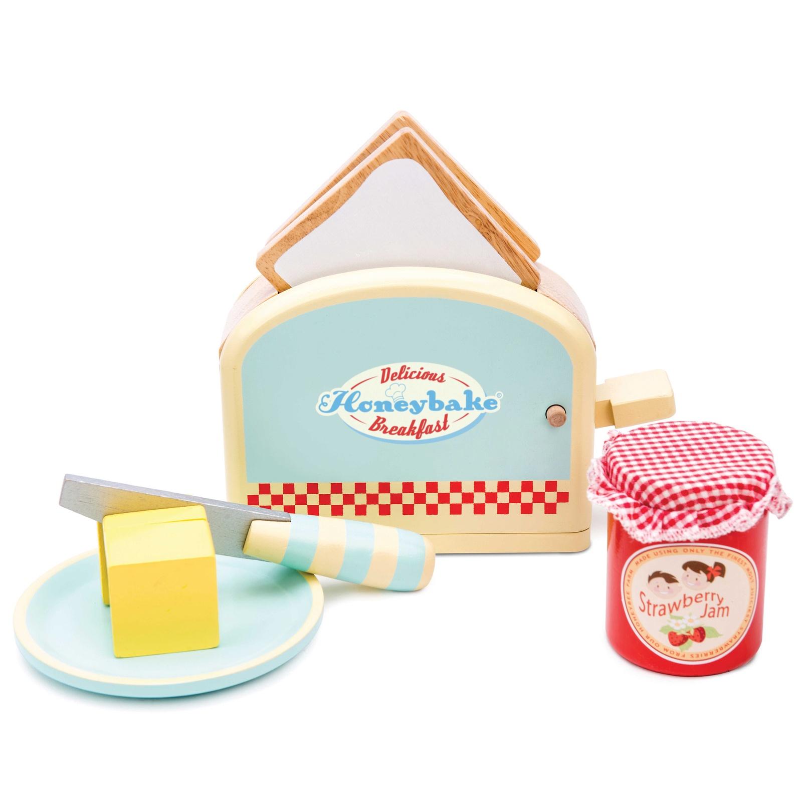 Сюжетно-ролевые игрушки Le Toy Van Тостер с продуктами, Le Toy Van голубой