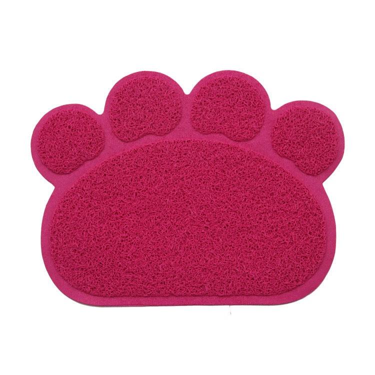 Коврик под миску Pets & Friends PF-CLM-06, красный