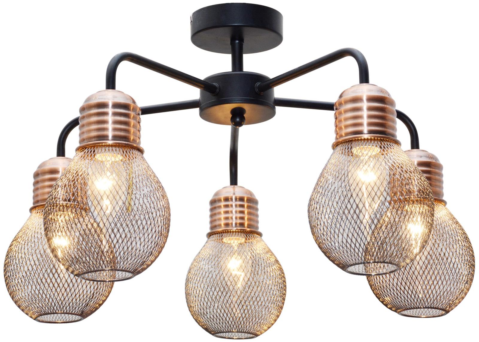 Потолочный светильник Toplight GrissellTL1155-5DЛюстра потолочная Grissell TL1155-5D Toplight