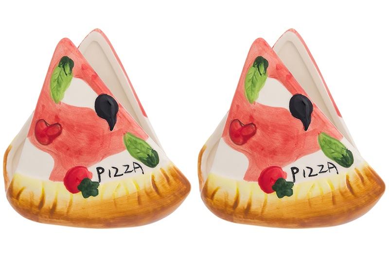 Салфетница Elan Gallery Пицца, Керамика110944_2Салфетница - это важная деталь праздничной сервировки. Для хозяек, находящих радость в мелочах, так украшающих интерьер.