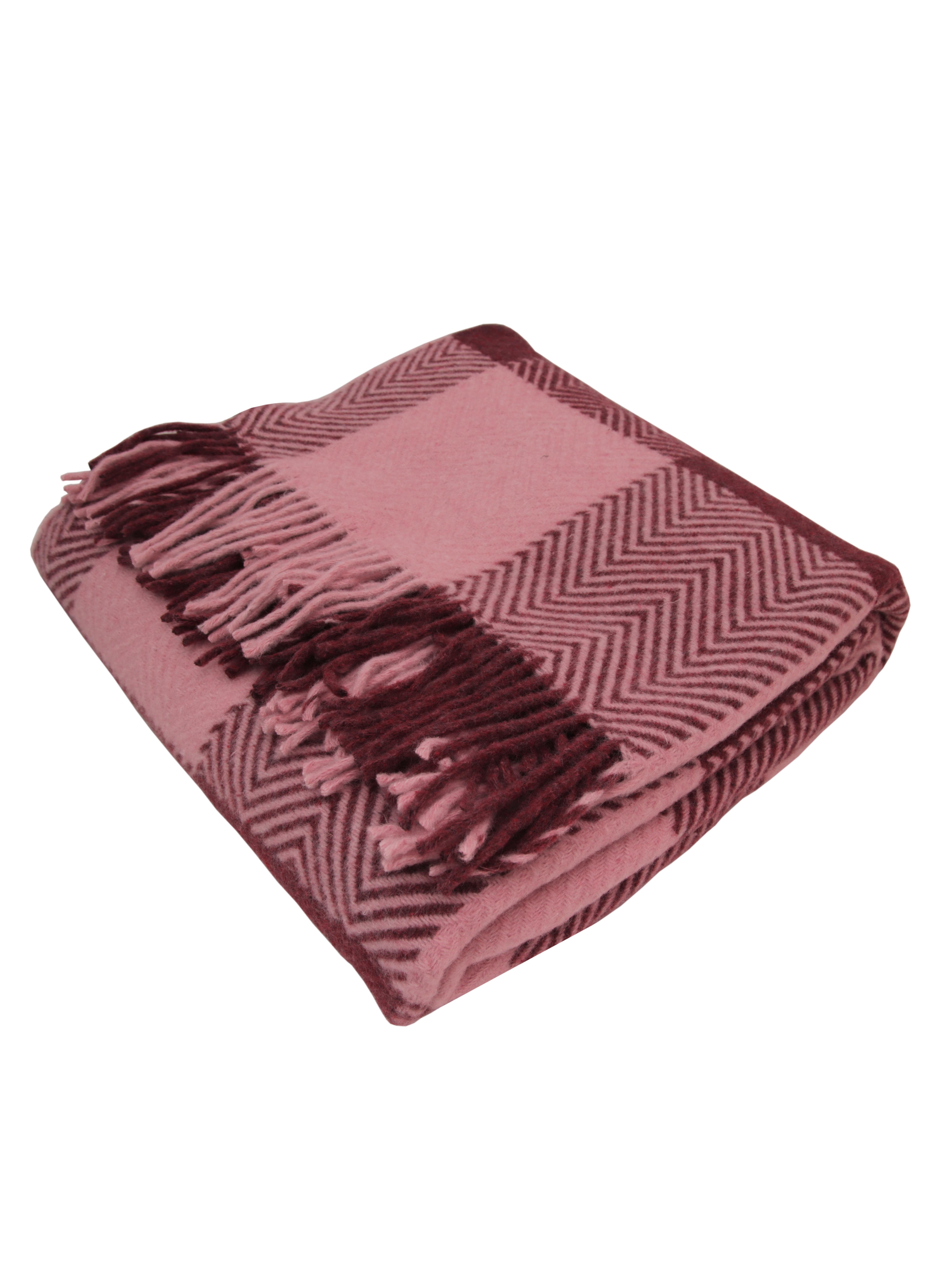 цена Плед Arloni рисунок клетка, розовый онлайн в 2017 году